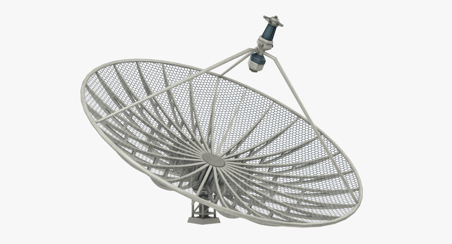 Uydu Antenleri Seti V7 royalty-free 3d model - Preview no. 25