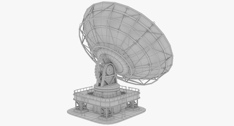 Parabolantenn V7 royalty-free 3d model - Preview no. 16