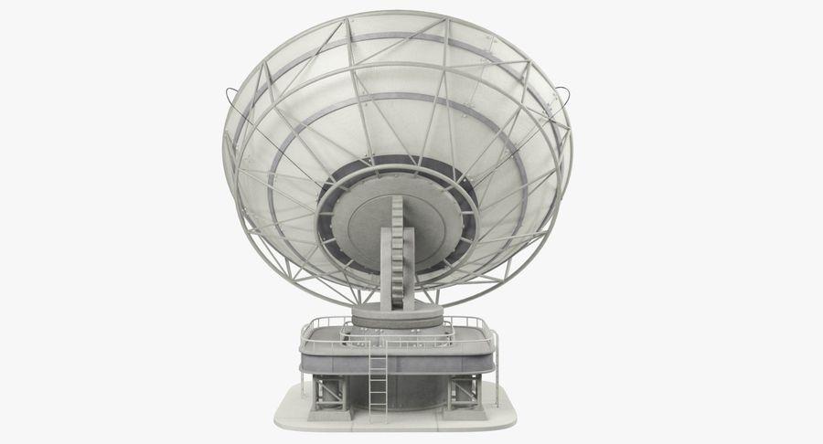 Parabolantenn V7 royalty-free 3d model - Preview no. 10