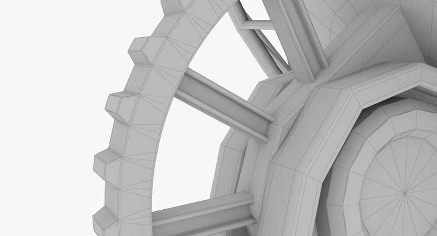 Parabolantenn V7 royalty-free 3d model - Preview no. 18