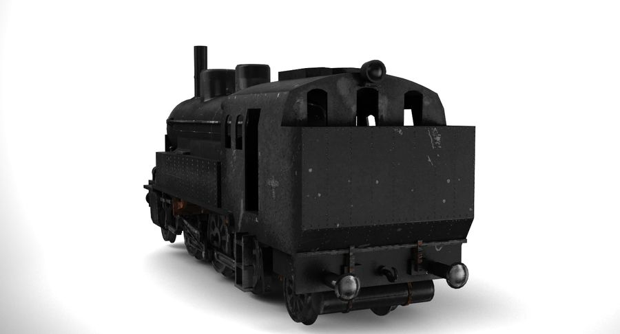 Train royalty-free 3d model - Preview no. 7