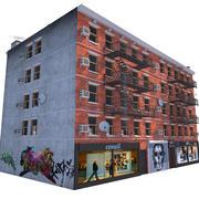 ニューヨークビル 3d model