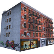 NYC Building 3d model
