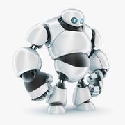 Robot F 3d model