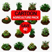 Pack Agriculture 3d model