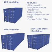 3类工业容器 3d model
