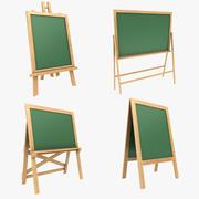 Kolekcja tablic 3d model