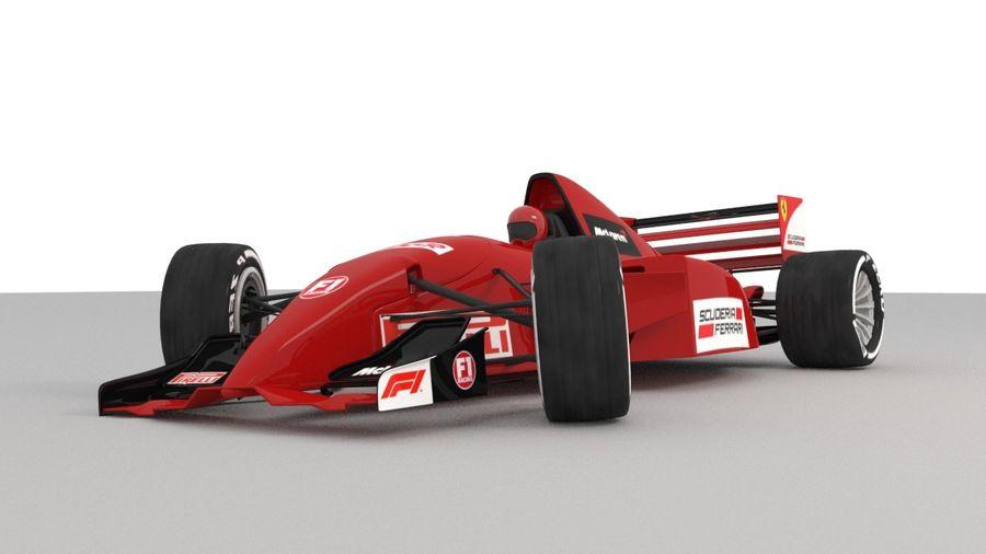 F1 car royalty-free 3d model - Preview no. 2