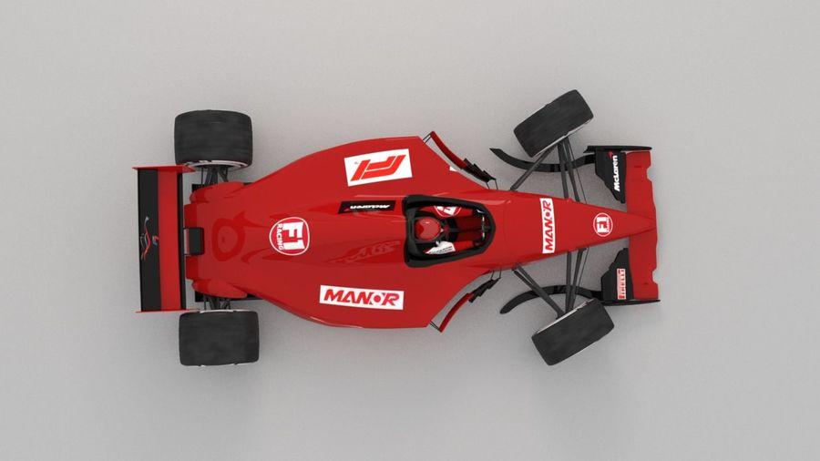 F1 car royalty-free 3d model - Preview no. 5