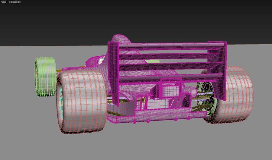 F1 car royalty-free 3d model - Preview no. 14