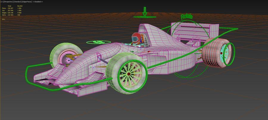 F1 car royalty-free 3d model - Preview no. 17