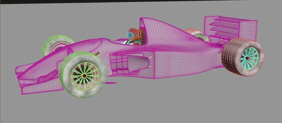 F1 car royalty-free 3d model - Preview no. 11