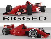 Samochód F1 3d model