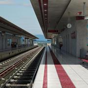 マルーンバレー駅 3d model