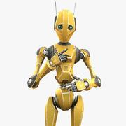 Worker Bot 3d model