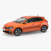 Volkswagen Polo 2018 3D Model 3d model