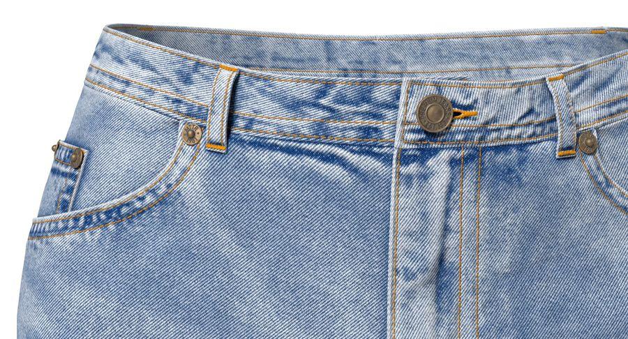 Jeansshorts für Frauen royalty-free 3d model - Preview no. 3