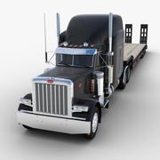 Semirimorchio Lowboy Truck V3 3d model