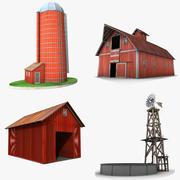 Edifícios de fazenda 3d model