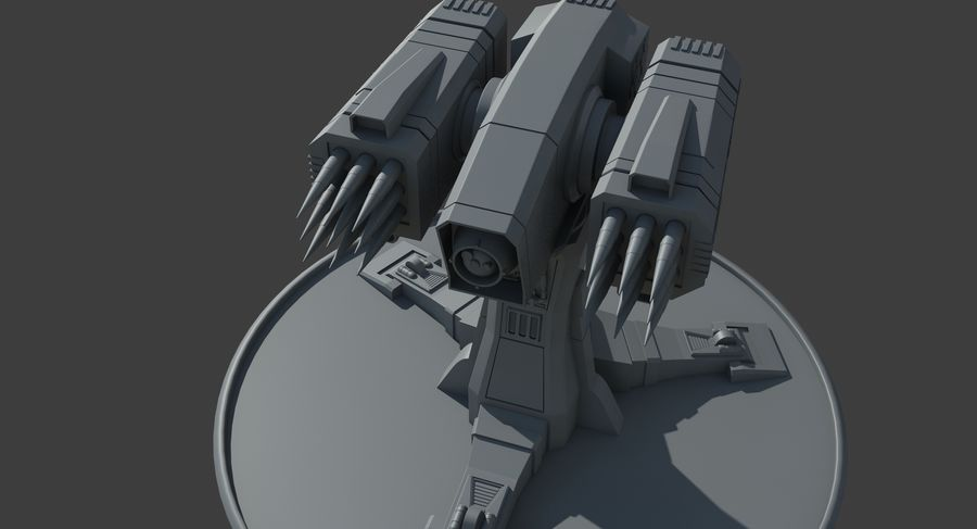 Missile Launcher royalty-free 3d model - Preview no. 12
