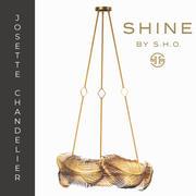 shine by s.h.o. josette chandelier 3d model
