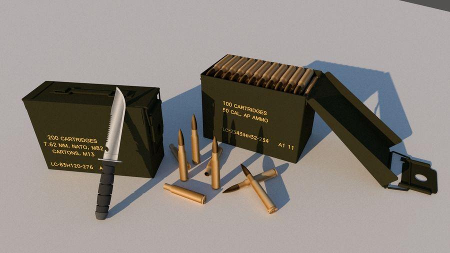 caixa de arma royalty-free 3d model - Preview no. 1