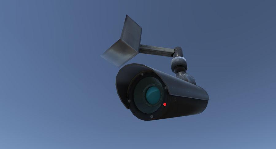 Système de caméra de surveillance royalty-free 3d model - Preview no. 3