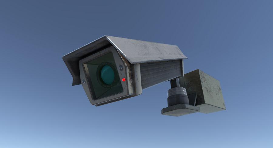 Système de caméra de surveillance royalty-free 3d model - Preview no. 1