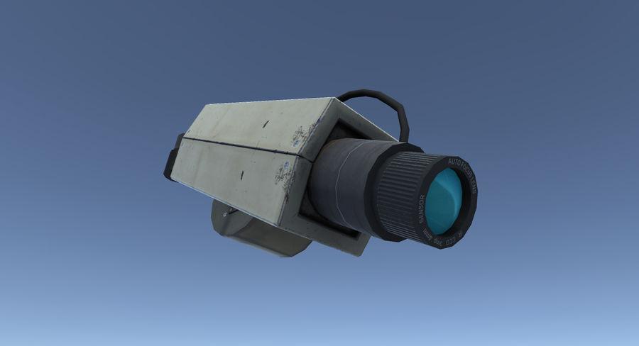Système de caméra de surveillance royalty-free 3d model - Preview no. 2