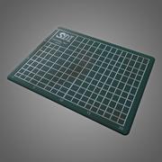 Cutting Mat - PBR Game Ready modelo 3d