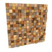 モザイク木材装飾 3d model