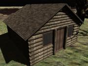 kabina, dom 3d model