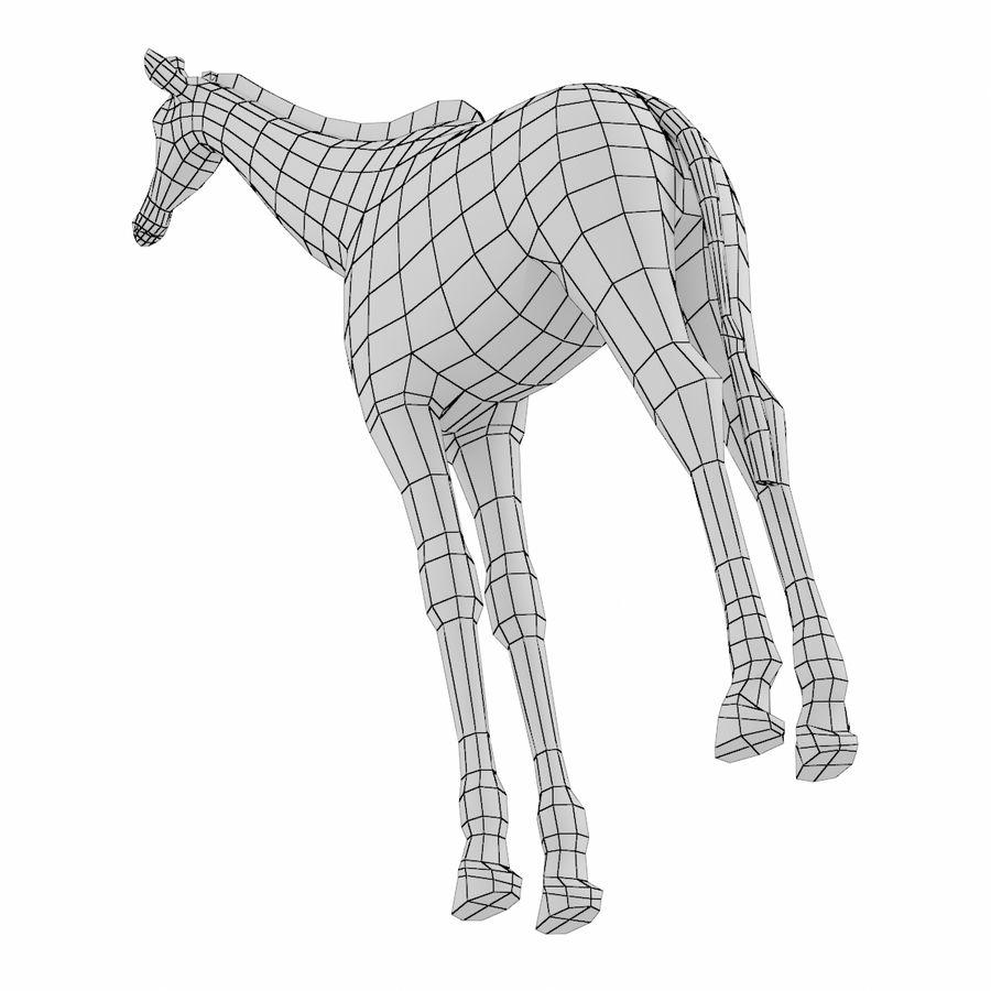 Giraffe Animal Base Mesh royalty-free 3d model - Preview no. 4