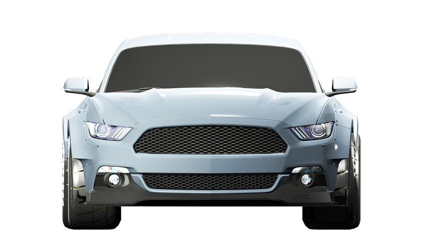 Samochód sportowy royalty-free 3d model - Preview no. 1