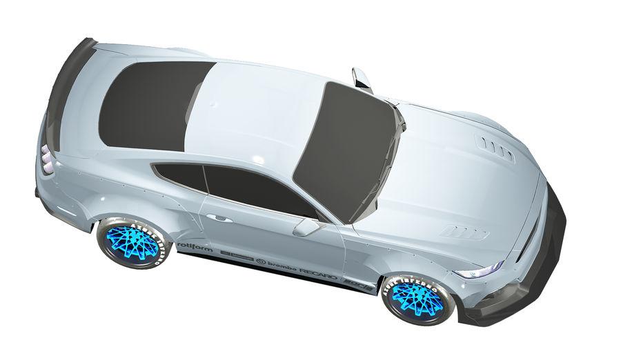 Samochód sportowy royalty-free 3d model - Preview no. 7