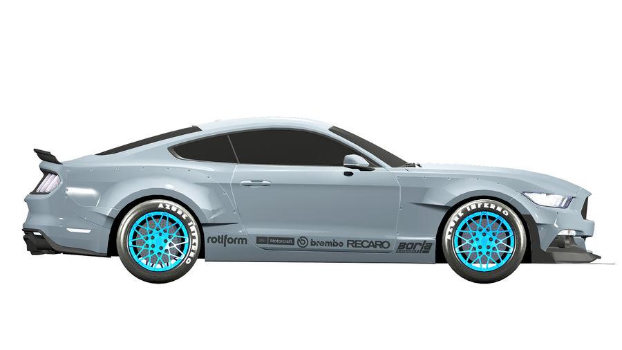Samochód sportowy royalty-free 3d model - Preview no. 8