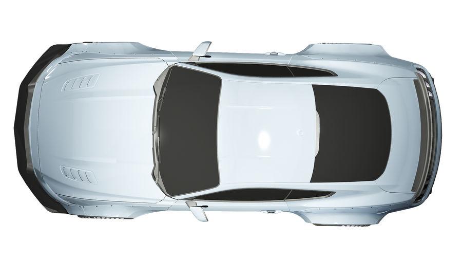 Samochód sportowy royalty-free 3d model - Preview no. 9