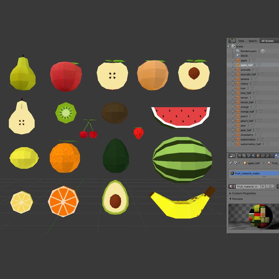 Pack De Frutas Para Unreal O Unity Modelo 3d 10 Unknown Stl Obj Fbx Dae Blend 3ds Free3d