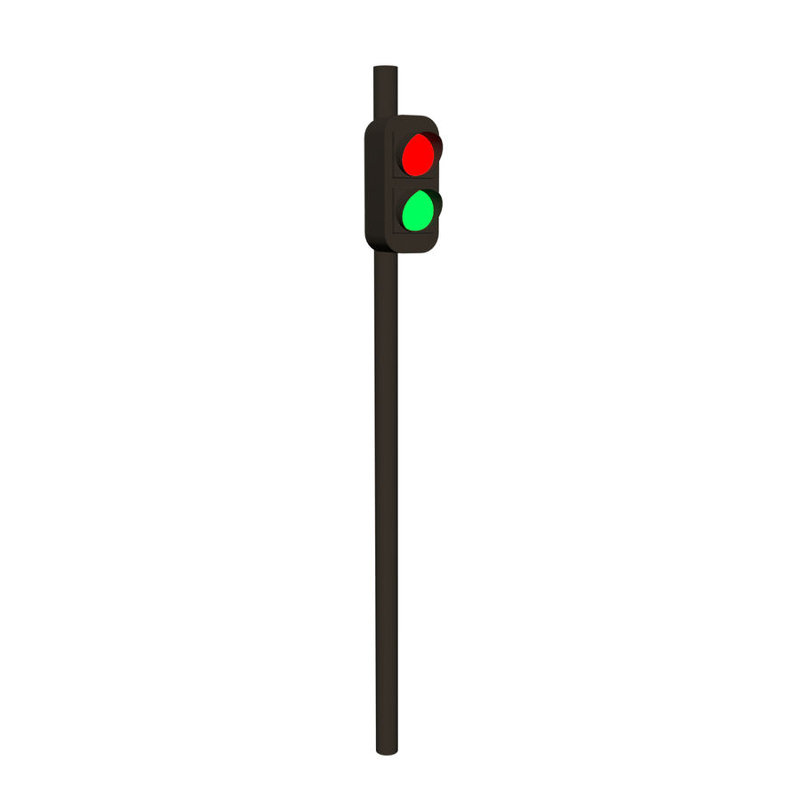 Modular Road royalty-free 3d model - Preview no. 3