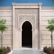 Islamic arch 3d model