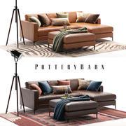 Jake Pottery Barn set 5 3d model