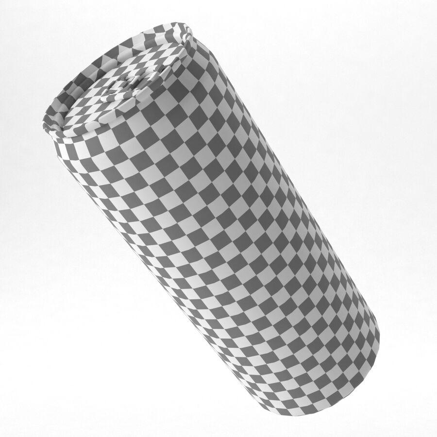 알루미늄 캔 330ml 슬림 royalty-free 3d model - Preview no. 5