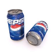 Pepsi Old Can 3d model