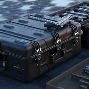 Crate SciFi - PBR tillgång 3d model