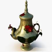 Rose TeaPot modelo 3d