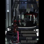 Meditation Chamber (for DAZ Studio) 3d model