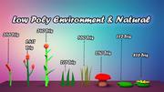 低ポリゴン環境 3d model