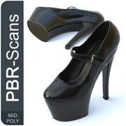 169_shoe_Mid 3d model