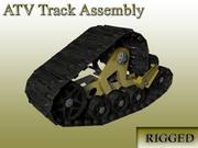 Трек ATV 3d model