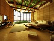 Luxurious Bedroom Interior 3D model 3d model